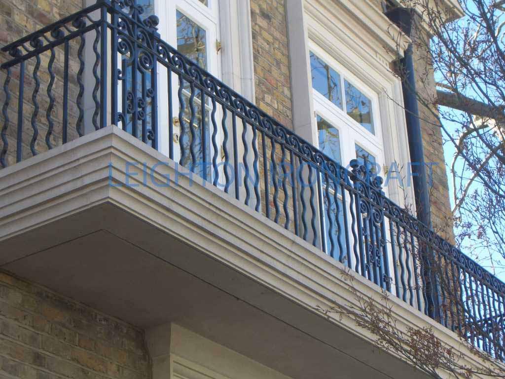 Leighton ironcraft for Terrace railing